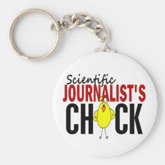 Scientific Journalist's Chick Key Chain