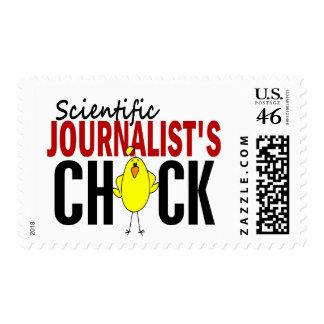 Scientific Journalist's Chick Stamp