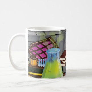 Scientific Laboratory with flasks and equipment Coffee Mug
