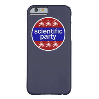 Scientific Party Barely There iPhone 6 Case