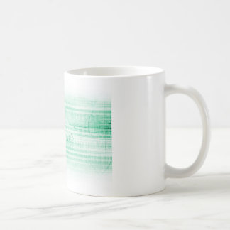 Scientific Research Chart for Medical Sales Art Classic White Coffee Mug
