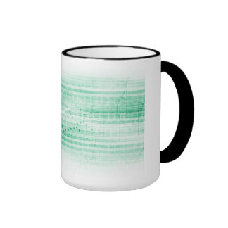 Scientific Research Chart for Medical Sales Art Ringer Coffee Mug
