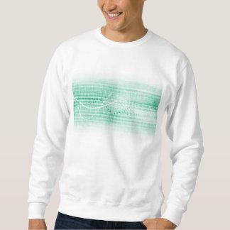 Scientific Research Chart for Medical Sales Art Sweatshirt