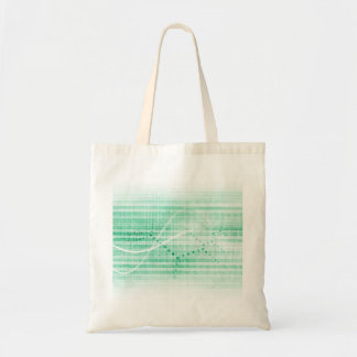 Scientific Research Chart for Medical Sales Art Tote Bag