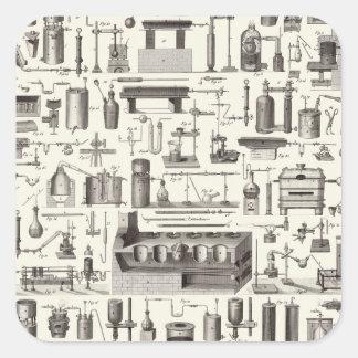 Scientific Tools Square Sticker