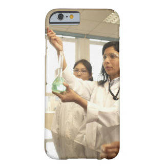 Scientist adding solution to beaker barely there iPhone 6 case