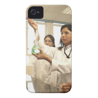 Scientist adding solution to beaker Case-Mate iPhone 4 cases