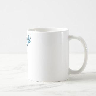 Scientist Alien Grey Coffee Mugs