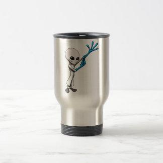 Scientist Alien Grey Mugs