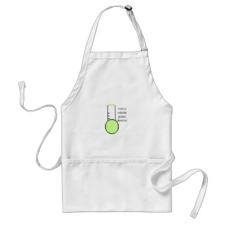 Scientist and Chemistry Adult Apron