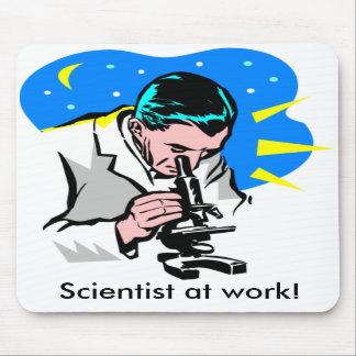 Scientist at work! mousepad
