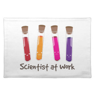 Scientist At Work Placemat