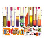 Scientist At Work Post Cards