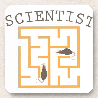 Scientist Beverage Coaster