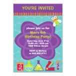 Scientist Birthday Party Invitation