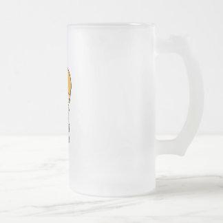 Scientist Boy 2 Frosted Glass Beer Mug
