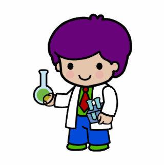 Scientist Boy Statuette