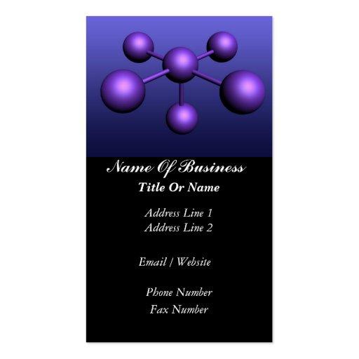 Scientist Business Card