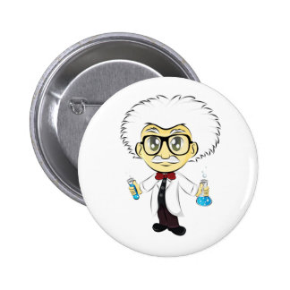Scientist Pinback Buttons
