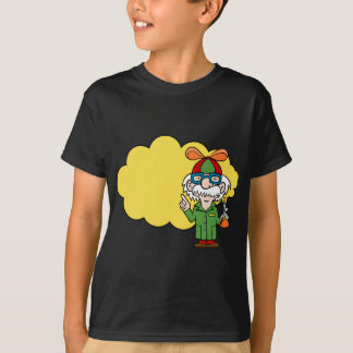Scientist Cartoon Character T-Shirt