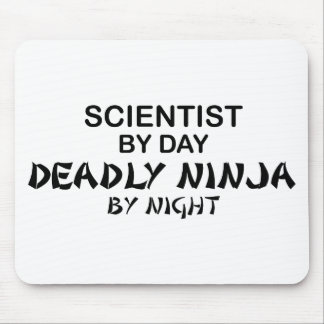Scientist Deadly Ninja by Night Mouse Pad