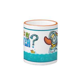 Scientist Ducky Ringer Coffee Mug