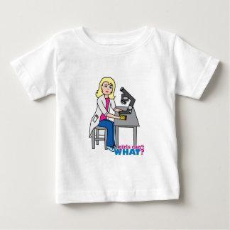 Scientist Girl - Light/Blonde Baby T-Shirt