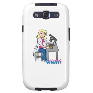 Scientist Girl - Light/Blonde Galaxy S3 Case