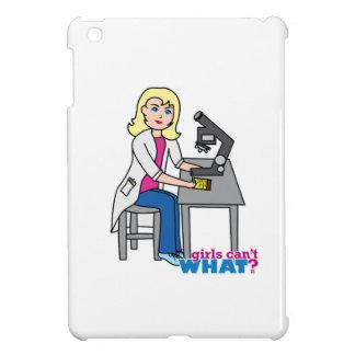 Scientist Girl - Light/Blonde Case For The iPad Mini