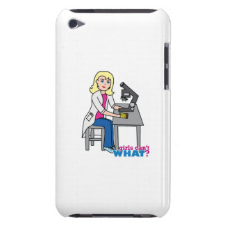 Scientist Girl - Light/Blonde iPod Touch Case