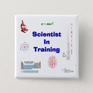 Scientist in Training Pinback Button