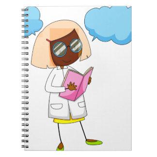 Scientist Spiral Notebook