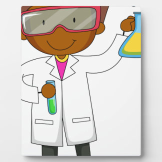 Scientist Display Plaque