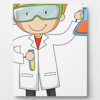 Scientist Display Plaques
