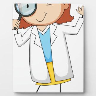 Scientist Photo Plaque