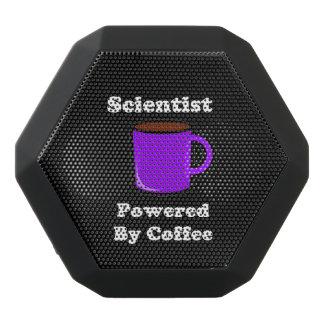 """Scientist""  Powered by Coffee Black Bluetooth Speaker"