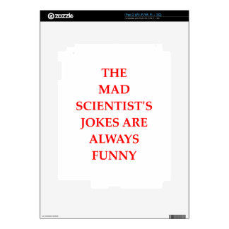 SCIENTIST SKINS FOR THE iPad 2