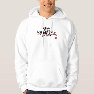 Scientist Vampire by Night Hoodie