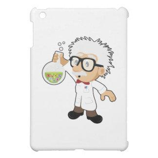 Scientist with beaker iPad mini cases