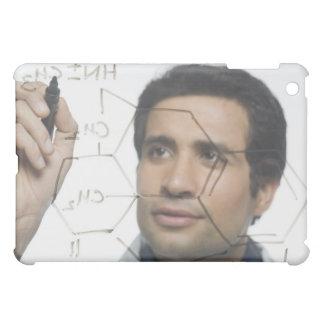 Scientist writing chemical formula 2 iPad mini case