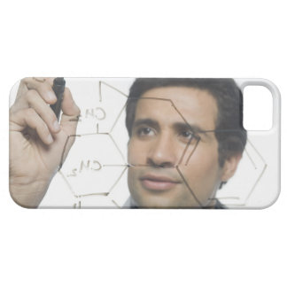 Scientist writing chemical formula 2 iPhone 5 case