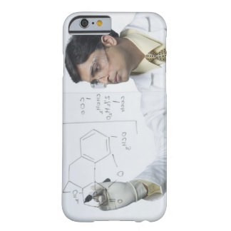 Scientist writing chemical formula barely there iPhone 6 case