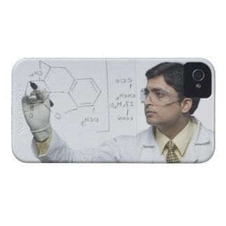 Scientist writing chemical formula Case-Mate iPhone 4 case