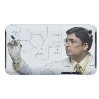 Scientist writing chemical formula Case-Mate iPod touch case