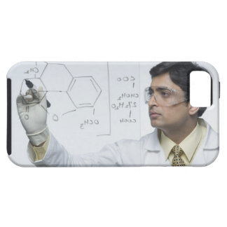 Scientist writing chemical formula iPhone SE/5/5s case