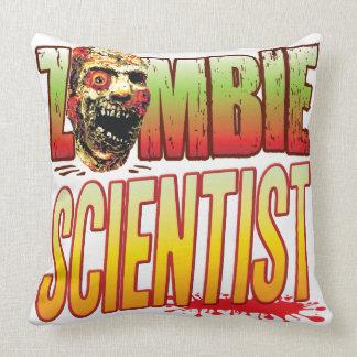 Scientist Zombie Head Pillows