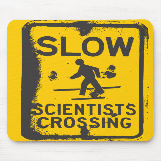 Scientists Crossing Mousepads