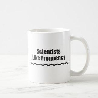 Scientists Like Frequency Coffee Mug
