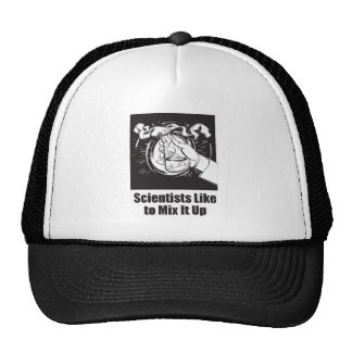 Scientists Like to Mix It Up Trucker Hat