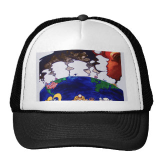 Scientists Muzzled_tshirt with words Trucker Hat